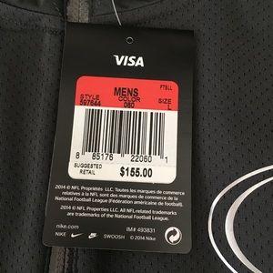 Nike Jackets & Coats - Nike Platinum Fly Rush 2.0 Half-Zip SF 49ers Jkt
